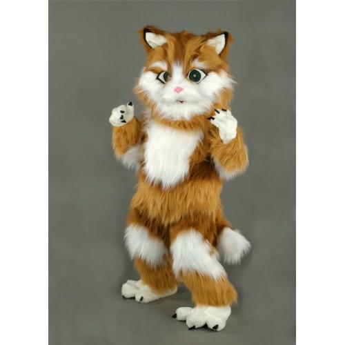 Mascotte Chat roux