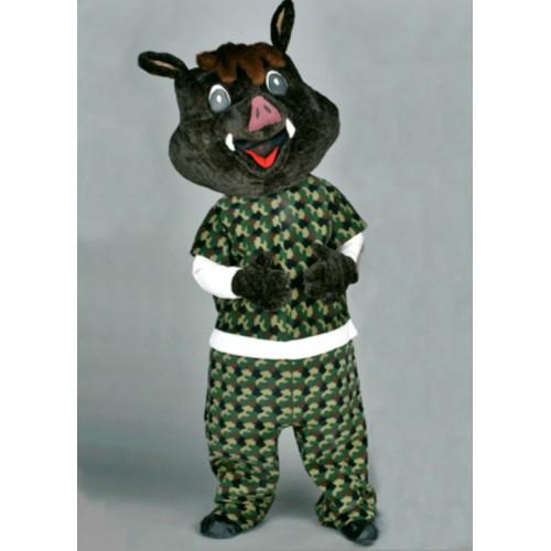 Mascotte Sanglier noir