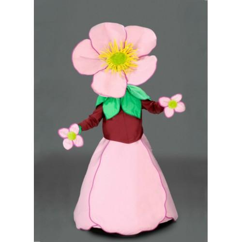 Mascotte Anémone rose