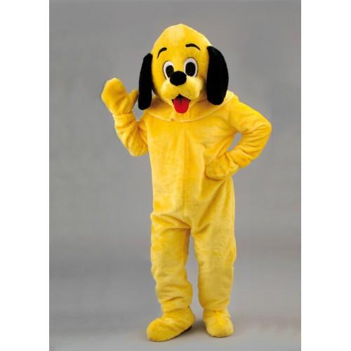 Mascotte Cocker premier prix jaune