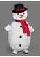 Mascotte Bonhomme de neige