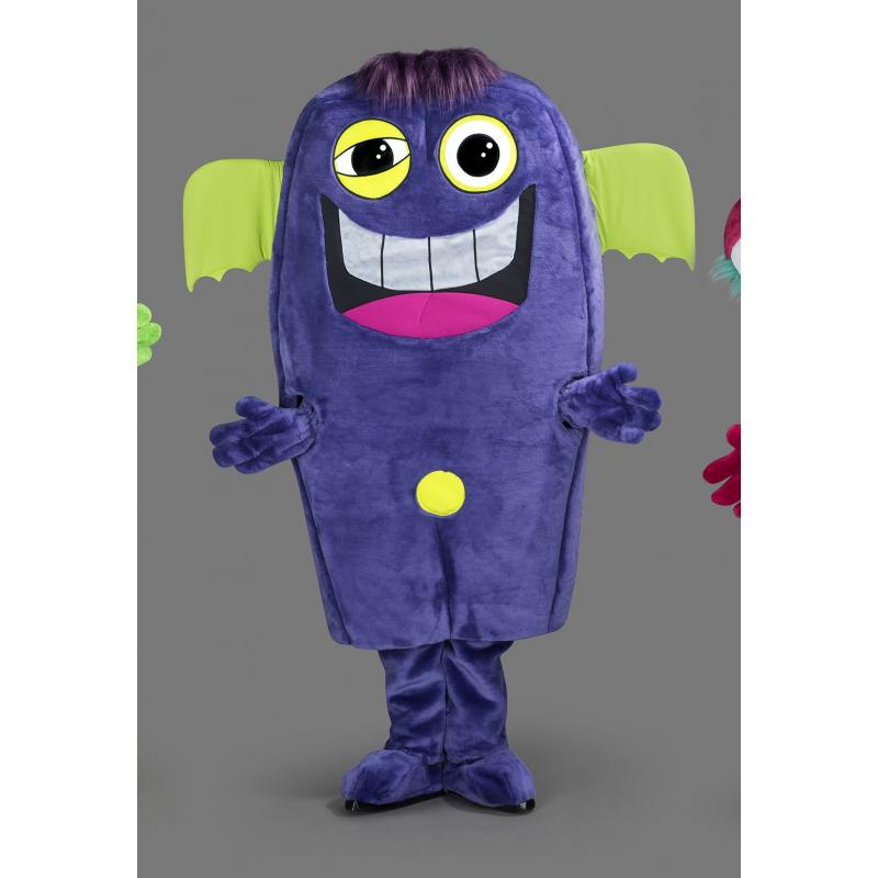 Mascotte Extraterrestre violet