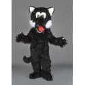 Mascotte Loup noir