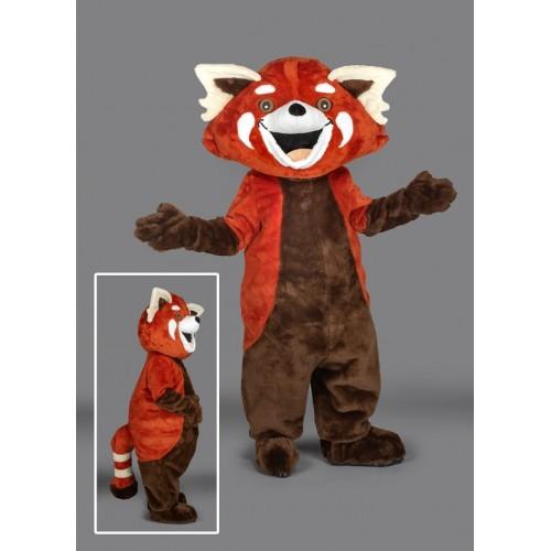 Mascotte Panda Roux