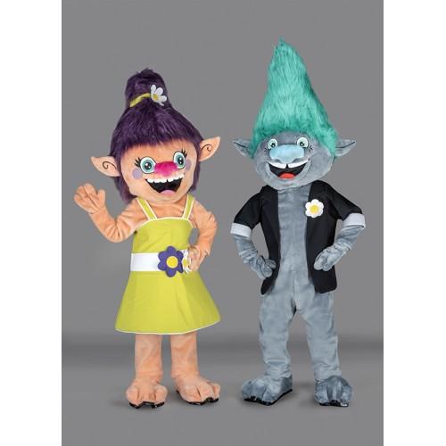 Mascotte Madame Trolls