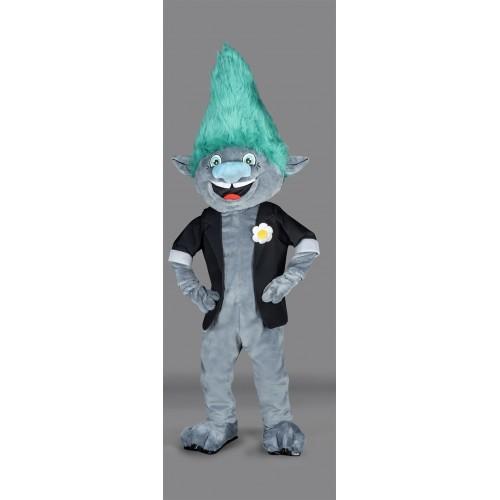 Mascotte Monsieur Trolls