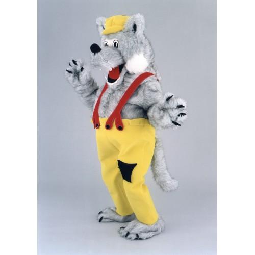 Mascotte Loup gris