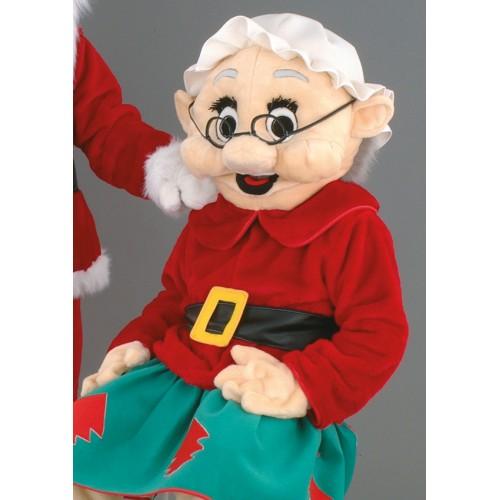 Mascotte Mère Noël