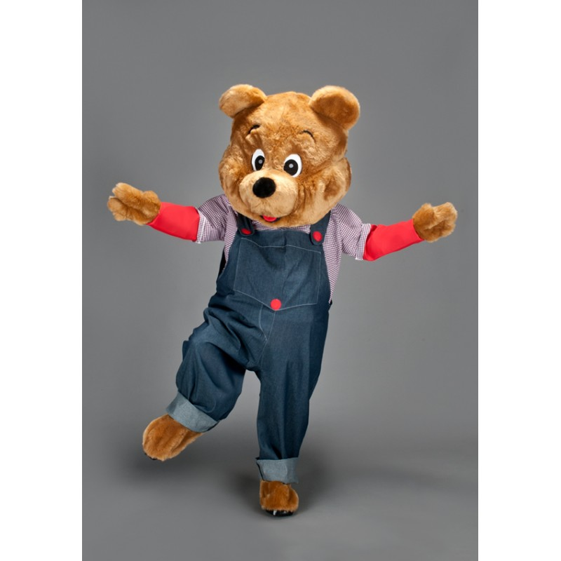 Ours à la salopette bleue