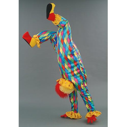 Clown acrobate