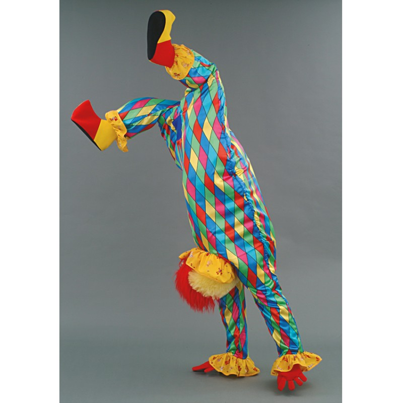 Clown acrobate