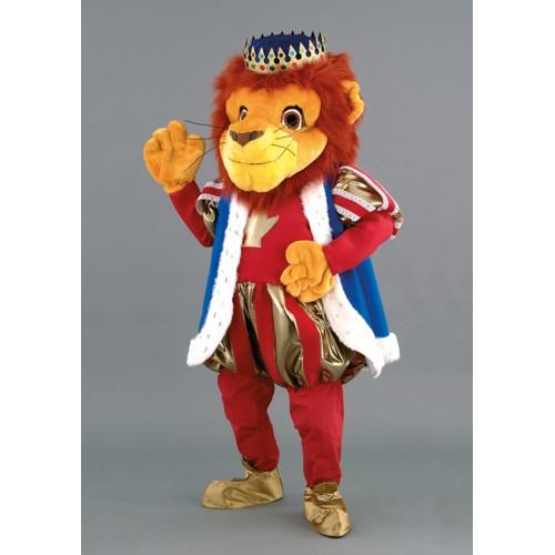 Mascotte Lion roi