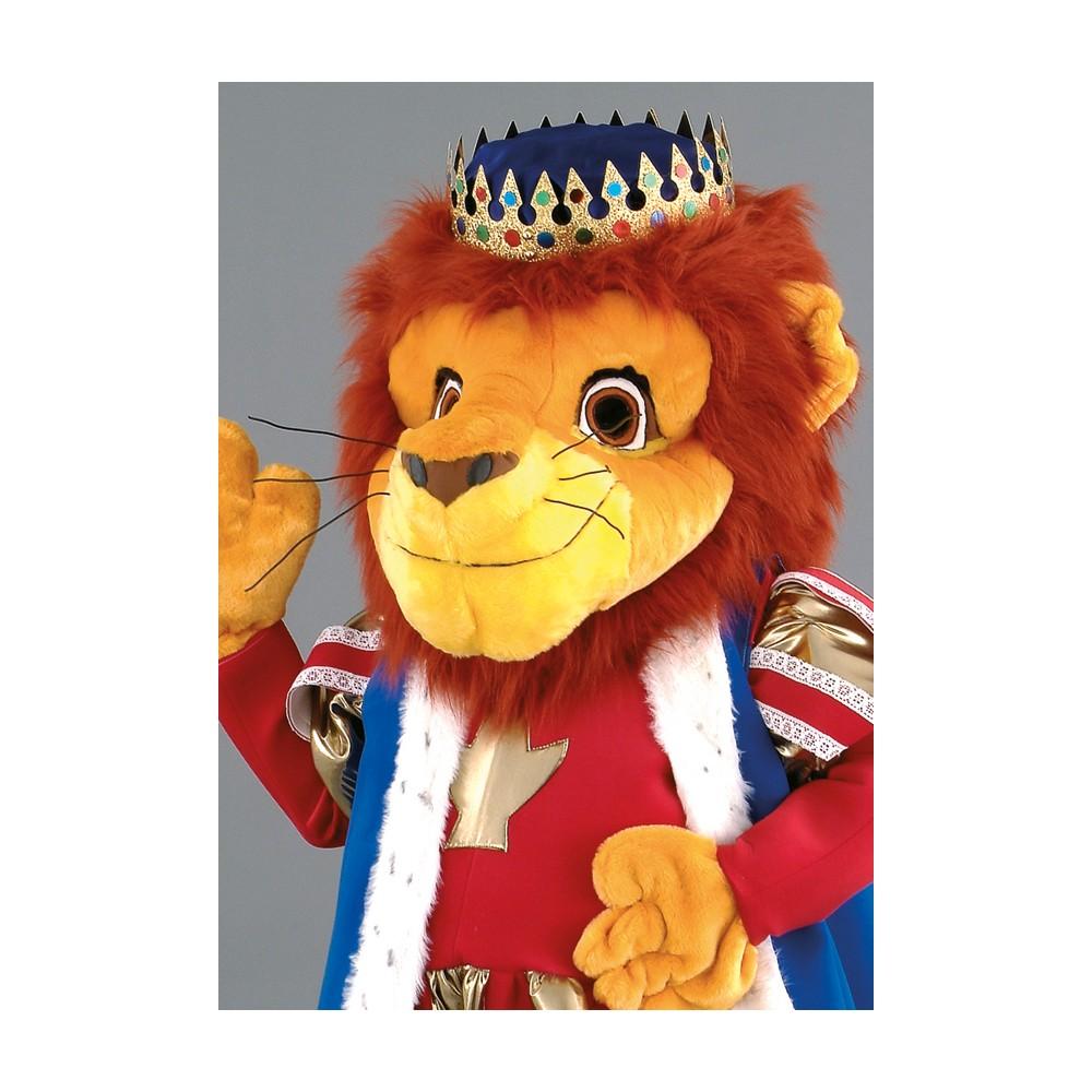 Mascotte lion roi - Animaux du roi lion ...