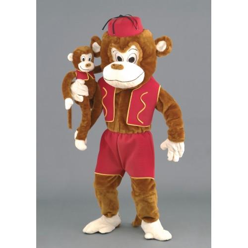 Mascotte Singe marionnette