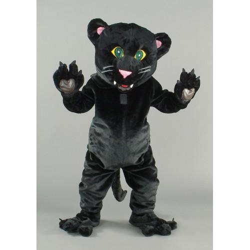 Mascotte Panthère noire
