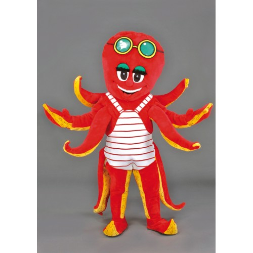 Mascotte Pieuvre
