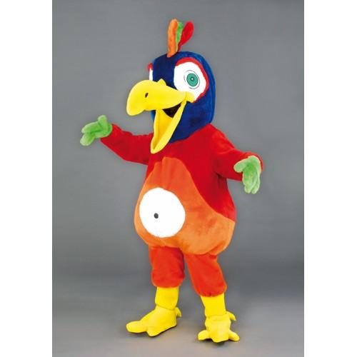 Mascotte Oiseau tropical