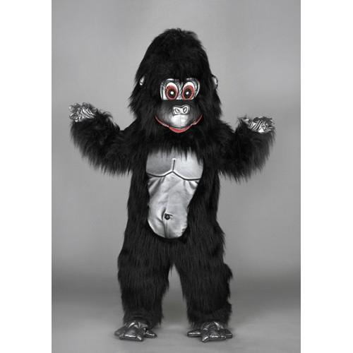 Mascotte Gorille noir
