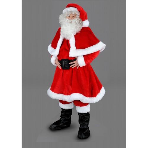 Mascotte Père Noël cape