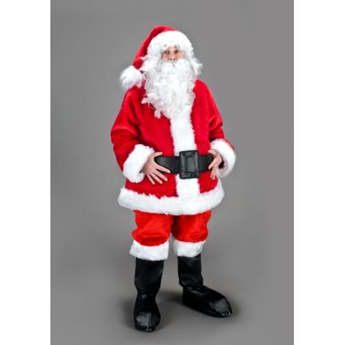 Mascotte Père Noël blouson