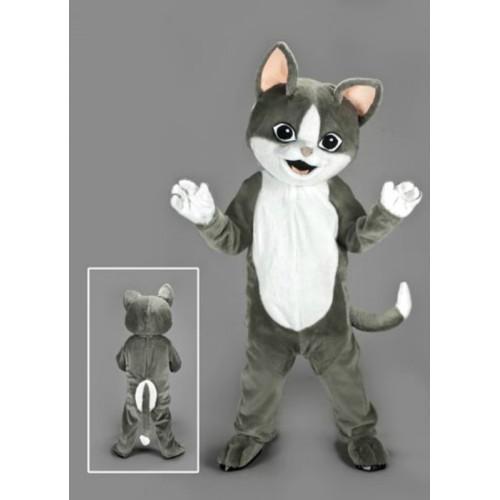 Mascotte Chat gris